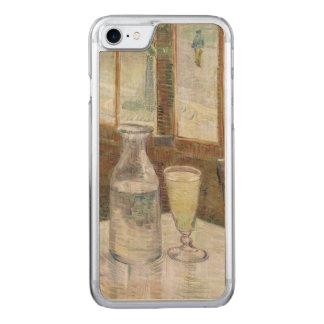 Café-Tabelle mit Wermut durch Vincent van Gogh Carved iPhone 8/7 Hülle
