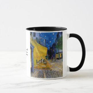 Café-Terrasse durch Vincent van Gogh Tasse
