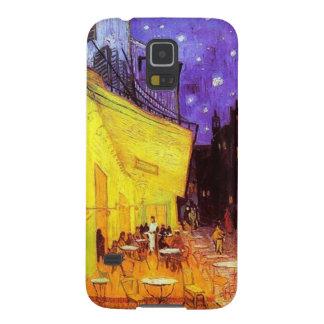 Café-Terrasse Kasten am NachtSamsung-Galaxie-S5 Samsung S5 Cover