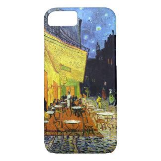 Café Terrasse nachts durch Van- Goghschöne Kunst iPhone 8/7 Hülle