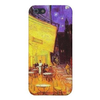 Café-Terrasse nachts durch Vincent van Gogh iPhone Etui Fürs iPhone 5