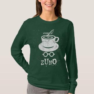 Café-Zuno verkratztes Logo 01 T-Shirt