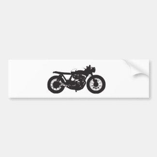 CaféRacer/Görn-Motorrad-Vintage coole Schablone Autoaufkleber