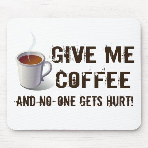 Caffein Entzug Mousepads