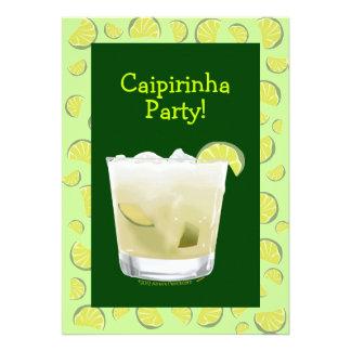 Caipirinha Party Coctail Party Ankündigungskarten