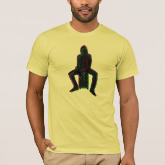 Cajon Spieler-Neon T-Shirt