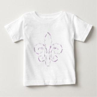 cajun fleur-02 baby t-shirt