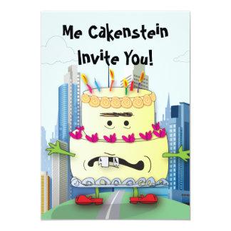 Cakenstein! Einladungen