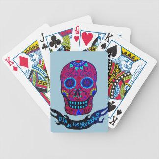 Calaca Dia de Los Muertos Bicycle Spielkarten