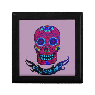 Calaca Dia de Los Muertos Geschenkbox