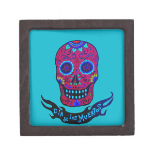 Calaca Dia de Los Muertos Kiste