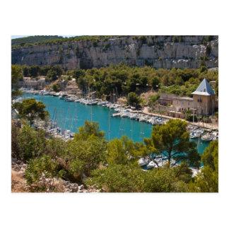 Calanque des Hafens-Miou Postkarte