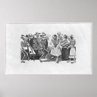 Calavera du Jarabe d'outretombe Plakat