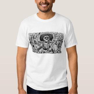 Calavera Tag der Toten T-Shirts
