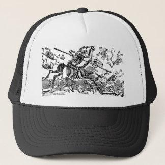 """""""Calavera von Don Quichote"""" circa frühem 1900's Truckerkappe"""