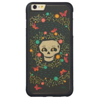 Calavera y mariposas carved® maple iPhone 6 plus bumper hülle