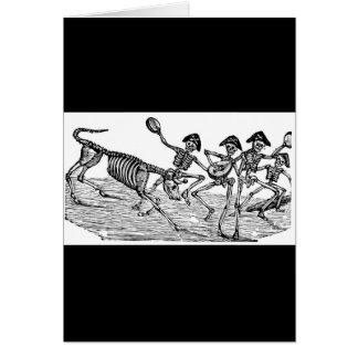 Calaveras an der Ausführung die Stiere C. 1800's Karte