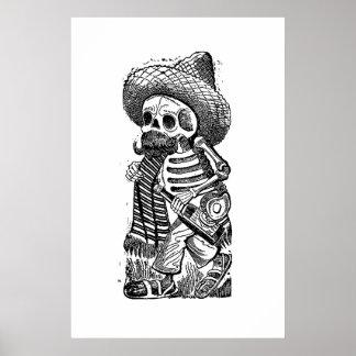 Calaveras vom Haufen durch José Guadalupe Posada Poster