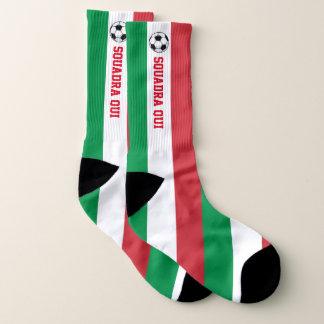 Calcio Italiano und Ihr Text Socken