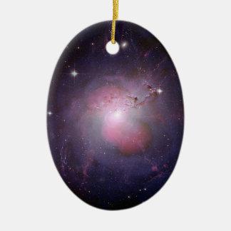 Caldwell 24 Active-Galaxie Ovales Keramik Ornament