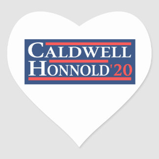 Caldwell Honnold 2020 Herz-Aufkleber