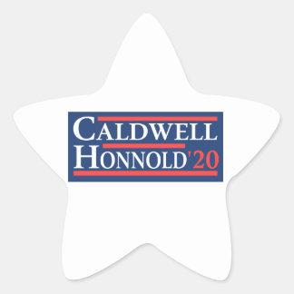 Caldwell Honnold 2020 Stern-Aufkleber