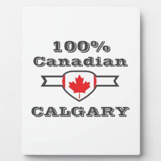 Calgary 100% fotoplatte
