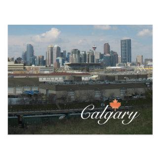 Calgary Alberta Postkarte