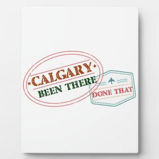 Calgary dort getan dem fotoplatte