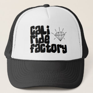 Cali Fahrfabrik-Diamant-Fernlastfahrer-Hut Truckerkappe