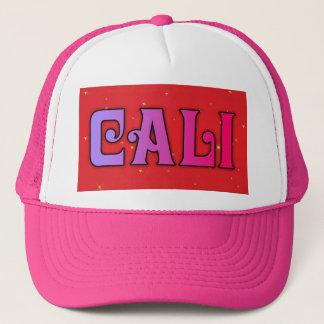 Cali Kalifornien Schein-Fernlastfahrer-Hut Truckerkappe