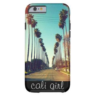 cali Mädchen-Telefonkasten Tough iPhone 6 Hülle
