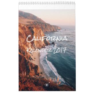 California Kalender 2017