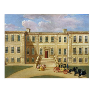 Calke Hall, Derbyshire, Seat von Sir Henry Harp Postkarte