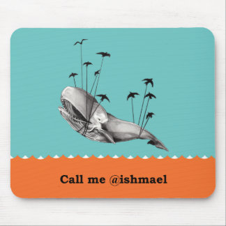 Call me @ishmael Mousepad Color