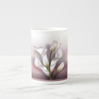 Calla-Blumen Porzellantasse