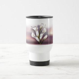 Calla-Blumenstrauß Reisebecher