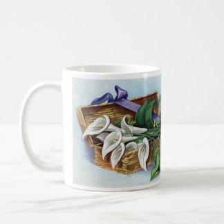 Calla-Lilien für Ostern Kaffeetasse