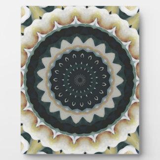 Calla-Lilien-Mandala Fotoplatte