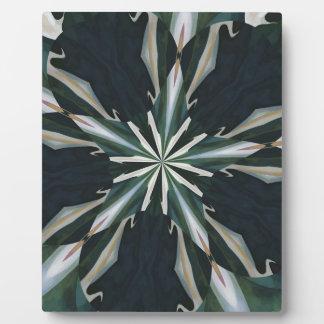 Calla-Lilien-Stern-Kaleidoskop Fotoplatte