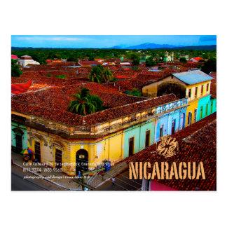 Calle Xalteva, Granada Nicaragua Postkarte