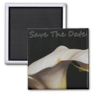 Calli Lillie Save the Date Quadratischer Magnet