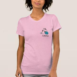 CallieKnits Logo-Strick- und Häkelarbeit-Shirt T-Shirt