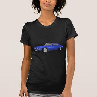 Camaro 1972 Z28: Muskel-Auto: Blaues Ende: T-Shirt