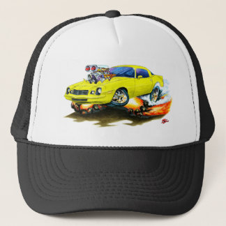 Camaro gelbes Auto 1979-81 Truckerkappe