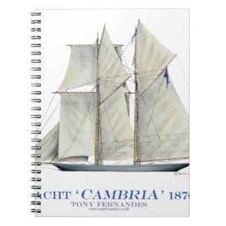Cambria 1870 notizblock