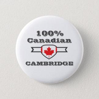Cambridge 100% runder button 5,7 cm