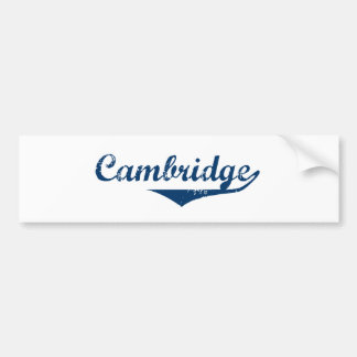 Cambridge Autoaufkleber