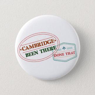 Cambridge dort getan dem runder button 5,7 cm