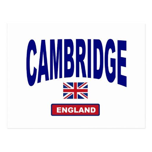 Cambridge England Postkarte